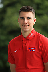 Hurdler Andrew Pozzi during the team announcement ahead of the IAAF World Championships, at the Loughborough University High Performance Centre.