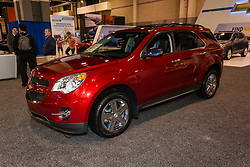 CHARLOTTE, NORTH CAROLINA - NOVEMBER 20, 2014: Chevrolet Equinox on display during the 2014 Charlotte International Auto Show at the Charlotte Convention Center.