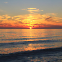 """""""Sunset Rolls In""""<br /> <br /> A glorious Lake Michigan sunset!!<br /> <br /> Sunset images by Rachel Cohen"""