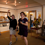 10x10 Benefit Art Exhibit, Brunswick, Maine