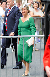 July 5, 2018 - London, London, United Kingdom - Anniversary of the NHS. .Service to Celebrate the 70th Anniversary of the NHS, at Westminster Abbey..Sophie, Countess of Wessex, arriving at Westminster Abbey for the service...The service celebrates NHS staff, volunteers and carers; reflect on the achievements of the last 70 years; and look ahead to the future of the NHS. (Credit Image: © Gustavo Valiente/i-Images via ZUMA Press)