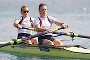 Mcc0038874 . Daily Telegraph..DT Sport.Womens Pair Helen Glover and Heather Stanning.The announcement of the GB Rowing Crews for the first World Cup.. .Reading 4 April 2012