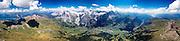 360° Panorama Bernese Alps & Lakes