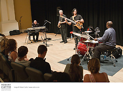 The Schoolfest programme in the New Zealand International Arts Festival gets kids and artists together to share, learn, and exchange ideas.  In this workshop, American jazz group the Yellowjackets talked with the students about their style of performance and composition.