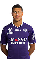 Zinedine Machach during Photoshooting of Toulouse for new season 2017/2018 on September 29, 2017 in Bordeaux, France. <br /> Photo : TFC / Icon Sport