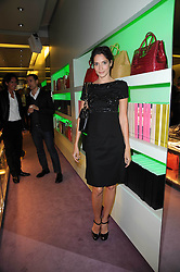 ASTRID MUNOZ at a party hosted by Prada to celebrate launch of a book documenting the company's diverse projects in fashion, architecture, film and art held at their store 16/18 Old Bond Street, London on 19th November 2009.