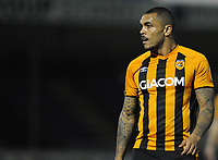 Hull City's Josh Magennis during the game<br /> <br /> Photographer Ian Cook/CameraSport<br /> <br /> The EFL Sky Bet League One - Bristol Rovers v Hull City - Tuesday 27th October 2020 - Memorial Stadium - Bristol<br /> <br /> World Copyright © 2020 CameraSport. All rights reserved. 43 Linden Ave. Countesthorpe. Leicester. England. LE8 5PG - Tel: +44 (0) 116 277 4147 - admin@camerasport.com - www.camerasport.com