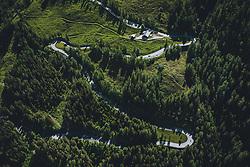THEMENBILD - Serpentinen der Strasse umringt von der Natur. Die Hochalpenstrasse verbindet die beiden Bundeslaender Salzburg und Kaernten und ist als Erlebnisstrasse vorrangig von touristischer Bedeutung, aufgenommen am 11. Juni 2020 in Fusch a.d. Glstr., Österreich // Serpentines of the road surrounded by nature. The High Alpine Road connects the two provinces of Salzburg and Carinthia and is as an adventure road priority of tourist interest, Fusch a.d. Glstr., Austria on 2020/06/11. EXPA Pictures © 2020, PhotoCredit: EXPA/ JFK
