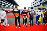 October 8-11, 2015: Russian GP 2015: F1 drivers before the Russian GP