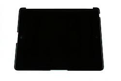 22 March 2014:   Mobile Electronic device - iPad on white background