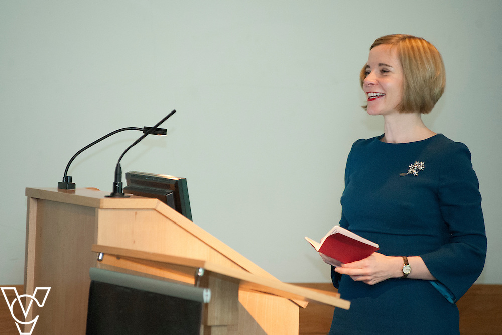 Chief curator of the Historic Royal Palaces, Dr Lucy Worsley<br /> <br /> Sandford Awards 2014 ceremony held at the National Maritime Museum, Greenwich.<br /> Date: December 5, 2014<br /> <br /> Picture: Chris Vaughan/Chris Vaughan Photography