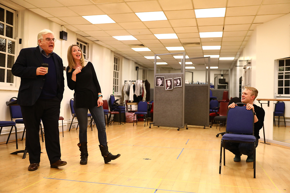 Actors rehearse the Barber of Seville at the English National Opera in London, Britain, 30 October 2017.  English National Opera (ENO) is an opera company based in London. It is one of the two principal opera companies in London. English National Opera traces its roots back to 1931 when Lilian Baylis established the Sadler's Wells Opera Company at the newly re-opened the Sadler's Wells Theatre. Baylis had been presenting opera concerts and theatre in London since 1898 and was passionate about providing audiences with the best theatre and opera at affordable prices. ENO became the first British opera company to tour the United States, and the first major foreign opera company to tour what was then the Soviet Union.EPA-EFE/NEIL HALL