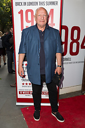 © Licensed to London News Pictures. 18/06/2015. London, UK. Steven Berkoff arrives at the press night for 1984 at the Playhouse Theatre, Northumberland Avenue in London tonight. Photo credit : Vickie Flores/LNP
