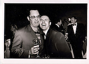 Vic Reeves, Damien Hirst. Centenary Gala Dinner Tate Gallery, London 1 Jul 1997 ONE TIME USE ONLY - DO NOT ARCHIVE  © Copyright Photograph by Dafydd Jones 66 Stockwell Park Rd. London SW9 0DA Tel 020 7733 0108 www.dafjones.com