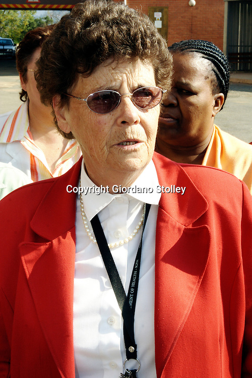 DURBAN - 14 June 2007 - Heather Findlay, the manager of Pietermaritzburg's Edendale Hospital speaks to the press about the effects of the public sector strike on the institution..Picture: Giordano Stolley/Allied Picture Press