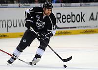 Ishockey<br /> NHL USA<br /> 04.10.2011<br /> Foto: Witters/Digitalsport<br /> NORWAY ONLY<br /> <br /> Davis Drewiske (Kings)<br /> <br /> Eishockey, Compuware NHL Challenge, Hamburg Freezers - Los Angeles Kings