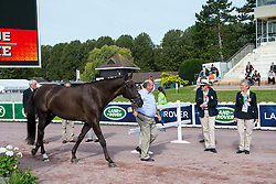 Sophie Wells, (GBR), Valerius - Horse Inspection Para Dressage - Alltech FEI World Equestrian Games™ 2014 - Normandy, France.<br /> © Hippo Foto Team - Jon Stroud<br /> 25/06/14