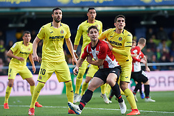 January 20, 2019 - Villarreal, Castellon, Spain - Gerard Moreno of Villarreal and Yerai Alvarez of Athletic Club de Bilbao during the La Liga Santander match between Villarreal and Athletic Club de Bilbao at La Ceramica Stadium on Jenuary 20, 2019 in Vila-real, Spain. (Credit Image: © Maria Jose Segovia/NurPhoto via ZUMA Press)