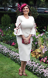 Kelly Brook during day five of Royal Ascot at Ascot Racecourse.