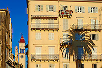 Grece, iles Ioniennes, Corfou, Kerkira, la  vieille ville classee au Patrimoine Mondial de l UNESCO // Greece, Ionian island, Corfu island, Kerkyra city, Unesco world heritage
