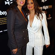 Playboy Night 2004, lois lane, Monique en Suzanne Klemann