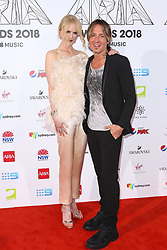 AU_1417480 - Sydney, AUSTRALIA  -  Nicole Kidman and Keith Urban Join Celebrities at the 32nd Annual ARIA Awards 2018 - Red Carpet Arrivals<br />