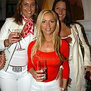 Modeshow Wolford Amsterdam, Tatjana Simic en vriendinnen