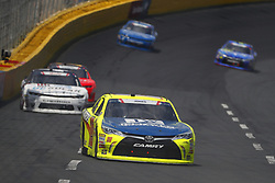 May 26, 2018 - Concord, North Carolina, United States of America - Brandon Jones (19) brings his race car down the front stretch during the Alsco 300 at Charlotte Motor Speedway in Concord, North Carolina. (Credit Image: © Chris Owens Asp Inc/ASP via ZUMA Wire)