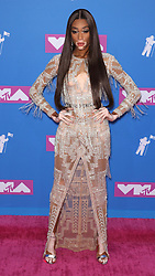 August 21, 2018 - New York City, New York, USA - 8/20/18.Winnie Harlow at the 2018 MTV Video Music Awards held at Radio City Music Hall in New York City..(NYC) (Credit Image: © Starmax/Newscom via ZUMA Press)