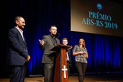 Entrega do Prêmio ABS-RS para os destaques do mercado vitivinicola. FOTO: Cesar Lopes / Agência Preview