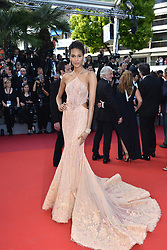 """70th Cannes Film Festival, """"The Beguiled"""" Red Carpet Arrivals. 24 May 2017 Pictured: Cindy Bruna. Photo credit: KILPIN / MEGA TheMegaAgency.com +1 888 505 6342"""