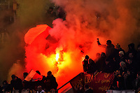Tifosi Roma Supporters <br /> Roma 19-02-2015 Stadio Olimpico Football Calcio Europa League AS Roma - Feyenoord . Foto Andrea Staccioli / Insidefoto