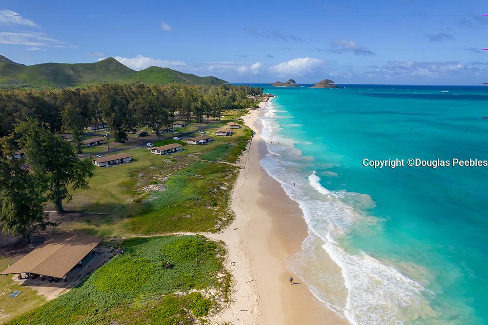 Bellows Beach, Waimanalo, Oahu, Hawaii