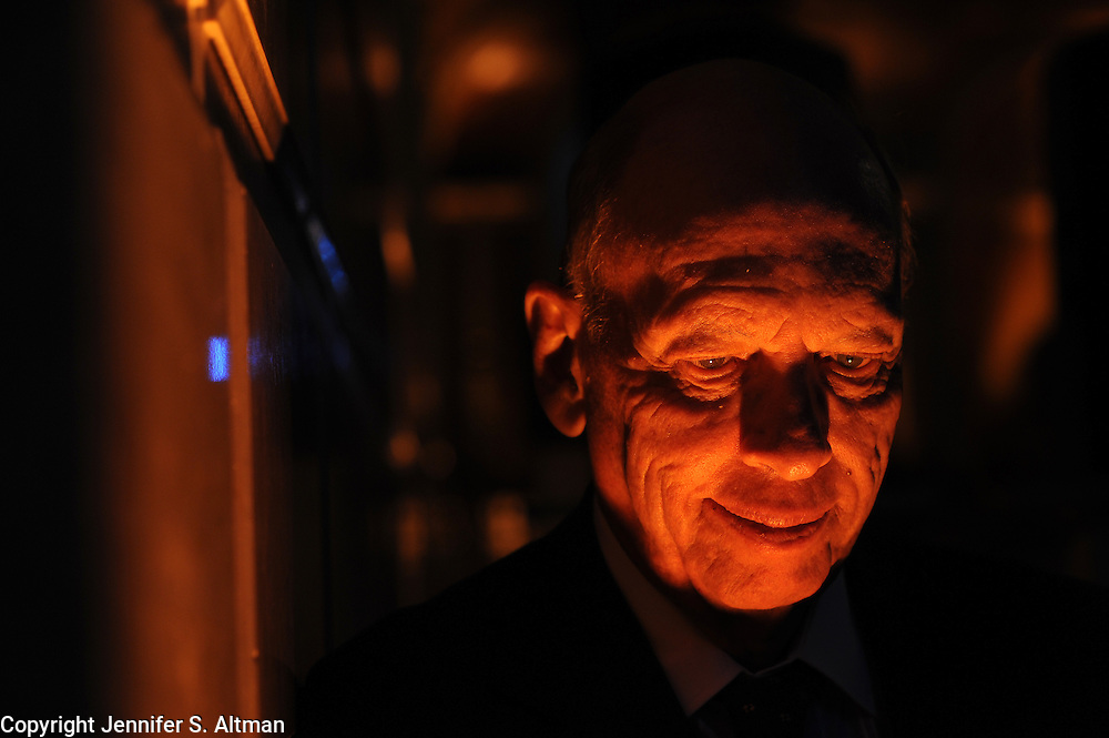 Byron Wien is seen at the Plaza Hotel in Manhattan, NY. 11/10/2009 Photo by Jennifer S. Altman