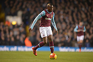 Diafra Sakho of West Ham United in action. Barclays Premier league match, Tottenham Hotspur v West Ham Utd at White Hart Lane in London on Sunday 22nd November 2015.<br /> pic by John Patrick Fletcher, Andrew Orchard sports photography.