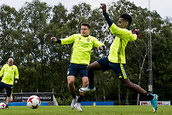 June 6, 2017 - Helsingborg, SVERIGE - 170606 Kerim Mrabti under en trÅning med U21-landslaget i fotboll den 6 juni 2017 i Helsingborg  (Credit Image: © Ludvig Thunman/Bildbyran via ZUMA Wire)