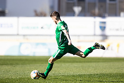 Suljic Asmir of NK Olimpija Ljubljana during football match between NK Olimpija Ljubljana and NK Domžale in 24rd Round of Prva liga Telekom Slovenije 2018/19, on March 30, 2019 in Sports park Domzale, Slovenia Photo by Matic Ritonja / Sportida