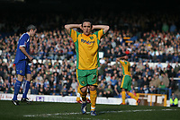 Photo: Rich Eaton.<br /> <br /> Cardiff City v Norwich City. Coca Cola Championship. 10/03/2007. Lee Croft rues a missed opportunity early in the first half