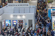 Day one of the London Book Fair at Kensington Olympia on the 12th March 2019 in London in the United Kingdom.