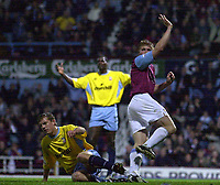Picture: Henry Browne.<br />Date: 01/10/2003.<br />West Ham United v Crystal Palace Nationwide Division One.<br /><br />Neil Mellor celebrates his second goal and West Ham's third
