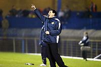 Fotball, 18. februar 2004, treningskamp Nord Irland-Norge 1-4,  Lawrie Sanchez, , trener for Nord Irland