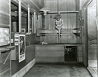 1943 Hat and coat check room in the foyer of the Hollywood Canteen
