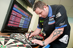 Premier League darts piece at Sheffield  Motorpoint Arena...14 April 2011.Images © Paul David Drabble