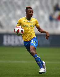 Cape Town-180825- Mamelodi Sundowns striker Toni Silver in a clash against  Cape Town City in the MTN 8 semi-final at Cape Town Stadum.Photographer :Phando Jikelo/African News Agency/ANA
