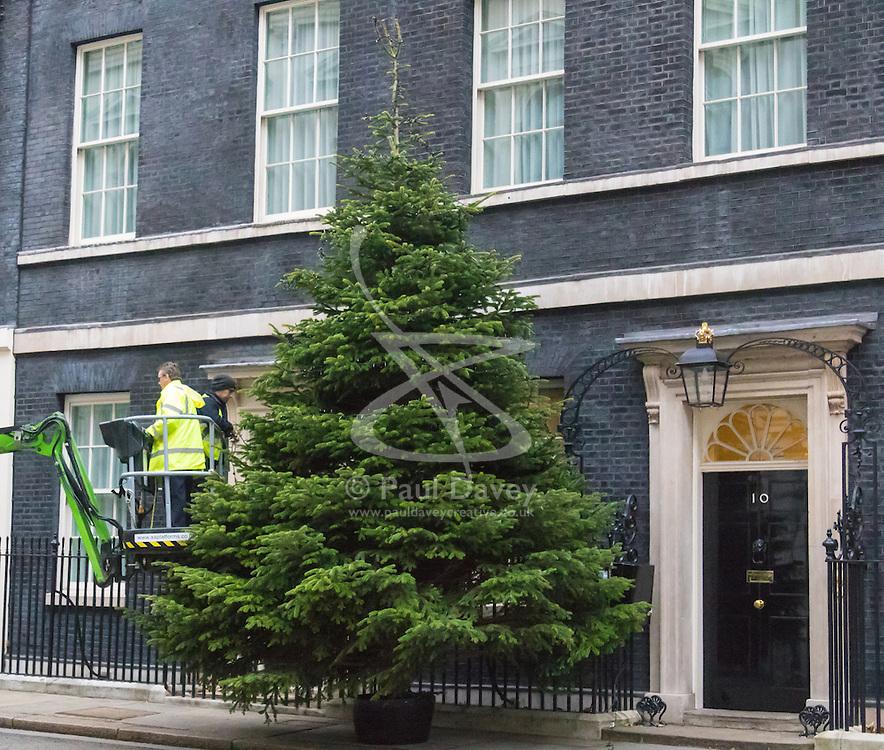 Downing Street, London, December 6th 2015.