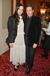 LIV TYLER and DAVE GARDNER at the Audi Ballet Evening at The Royal Opera House, Covent Garden, London on 23rd April 2015.