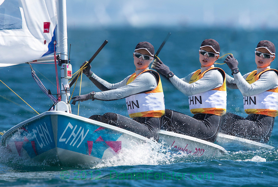 GOLD LASER  RADIAL<br /> Xu Lijia, (CHN, Laser Radial)<br /> <br /> 2012 Olympic Games <br /> London / Weymouth