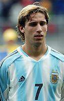 Fotball <br /> FIFA World Youth Championships 2005<br /> Enschede<br /> Nederland / Holland<br /> 11.06.2005<br /> Foto: Morten Olsen, Digitalsport<br /> <br /> USA v Argentina 1-0<br /> <br /> Lucas Biglia - Argentina