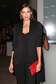 Irina Shayk arriving at the 2015 ASPCA Young Friends Benefit