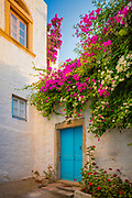 Home in the town of Chora on Patmos island in Greece